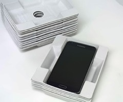 White Smartphone Pulp Insert Tray: Oversize