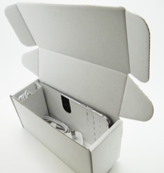 White: Handset + Charger Carton