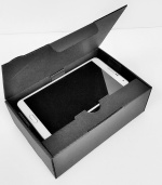 Black Textured one piece carton - Handset size 3