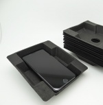 Black Smartphone Pulp Insert Tray: Oversize