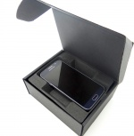Smartphone box Textured black