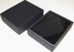 iPad Box textured black (Versions 1 -4) with power supply & leads