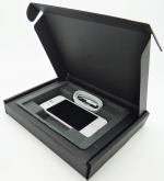 Smartphone Box: Black Slimline and Pulp Insert